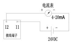 金属转子安装接线图